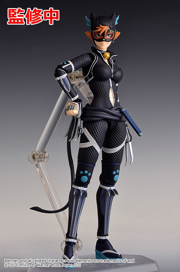 Wf2018s New Figma Batman Ninja Catowman More From Good Smile Company Action Figure News Toy Fans Community