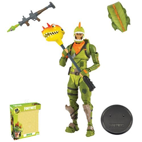 Fortnite 7 Drift And Rex Figures From Mcfarlane Toys Action