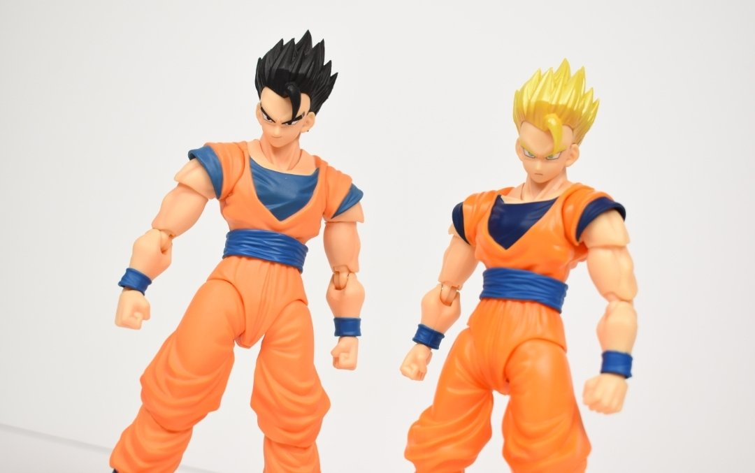 Dragon Ball Z Ultimate Gohan SH Figuarts Action Figure-San Diego comic-con 2019 Exclusive