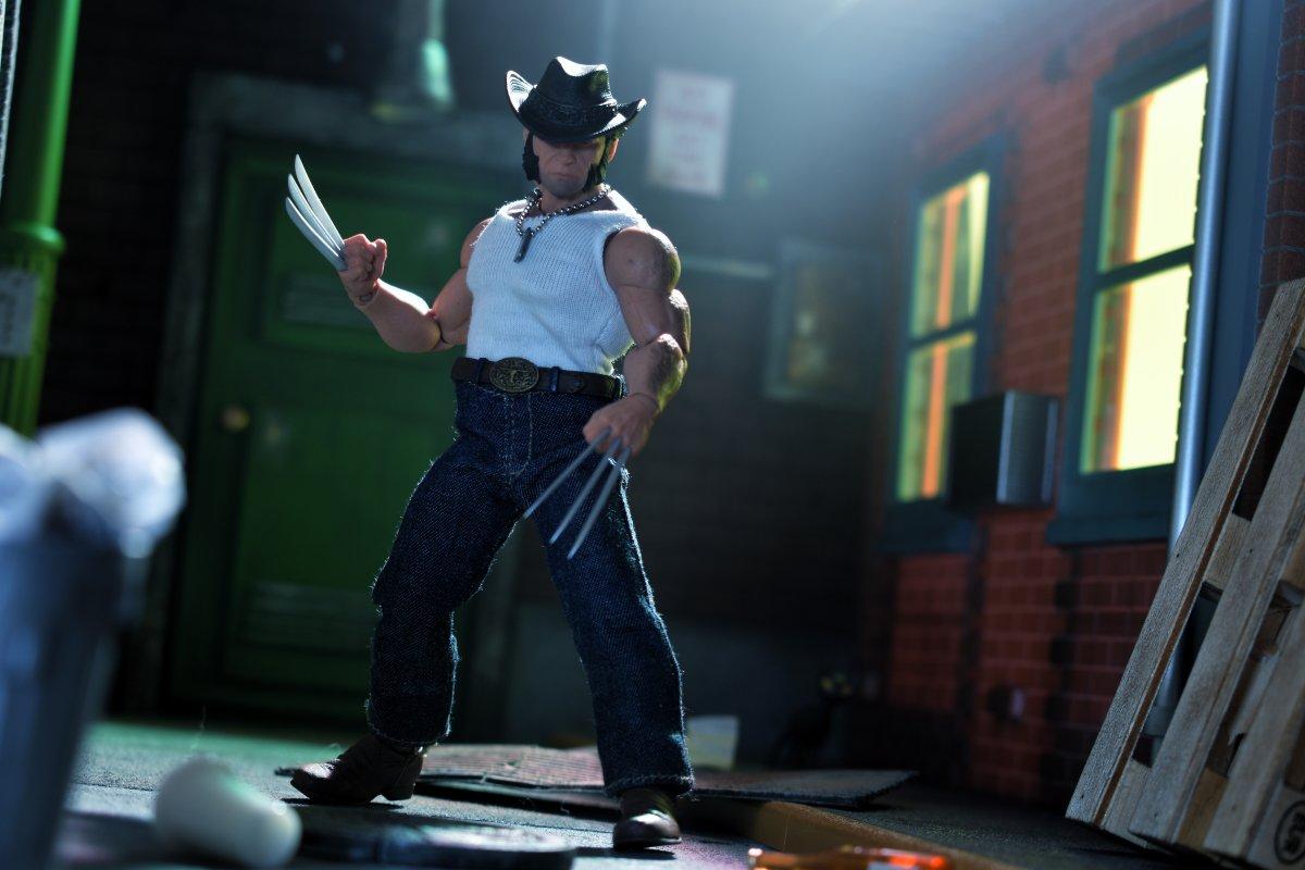 MZ-LG-HH loose Logan chapeau tête de Mezco One:12 Logan Figure