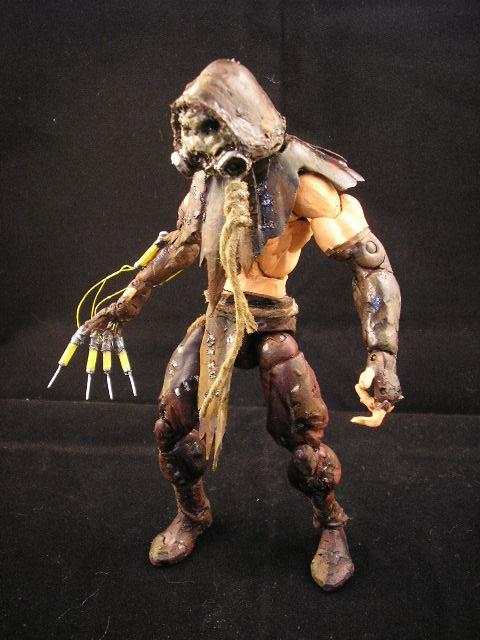 batman arkham asylum scarecrow custom figures toy fans community